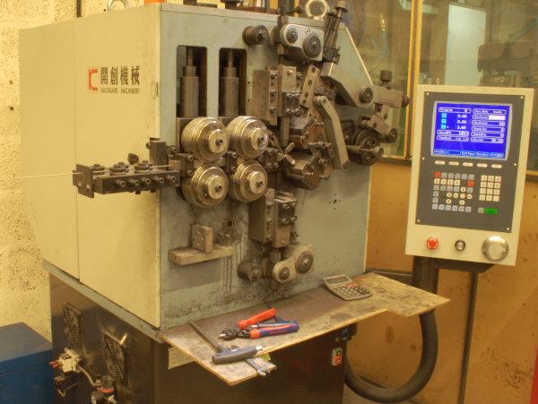 Large Spring Making Machine